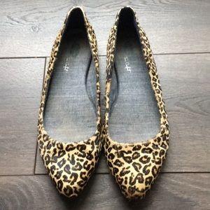 Dr Scholls cheetah print true comfort flats 8.5